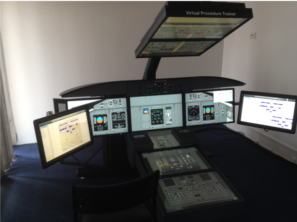 Aerosim Q400 Virtual Procedure Trainer